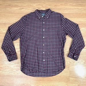Bonobos Slim Fit Plaid Flannel Button Down {CS}
